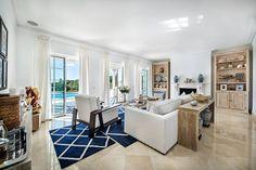 Salón. Idea muebles blanqueados.(de Interdesign Interiores)