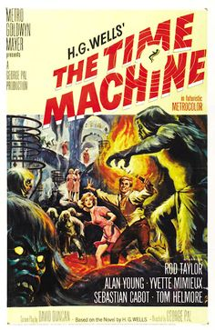 Movie Poster Art: The Time Machine (1960)