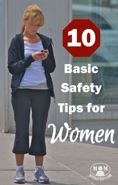 Situational Awareness, Are you neglecting these 10 Basic Safety Tips for Women! Get the lowdown on how to protect yourself better, everyday! Disaster Preparedness, Survival Prepping, Survival Skills, Survival Shelter, Survival Hacks, Survival Gear, Self Defense Moves, Best Self Defense, Personal Defense