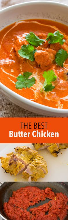 Make a better version of this Indian favorite with a few easy tricks. Tender yogurt marinated chicken with rich tomato-based sauce. Indian Food Recipes, Asian Recipes, Ethnic Recipes, Small Food Processor, Food Processor Recipes, Yogurt Marinated Chicken, Mets, Butter Chicken, Snack