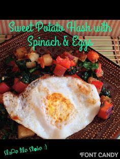 share the stoke :): Sweet potato hash and eggies