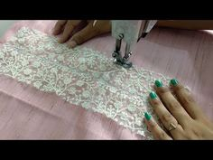 In this Video, I am going to make Stylish Neck Design with Lace. You can make this Easy Neck Design from any Leftover Fabric and Lace. To Buy Laces Click bel. Neck Designs For Suits, Blouse Back Neck Designs, Fancy Blouse Designs, Dress Designs, Saree Kuchu Designs, Kurti Neck Designs, Sleeve Designs, Kids Dress Patterns, Baby Clothes Patterns