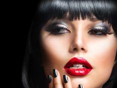Hot Makeup Trends 5 Hot New Makeup Trends to Try Red Lipstick Makeup, Red Lipsticks, Eye Makeup, Hair Makeup, Contouring Makeup, Makeup Cosmetics, Makeup Trends, Makeup Ideas, Makeup Inspiration