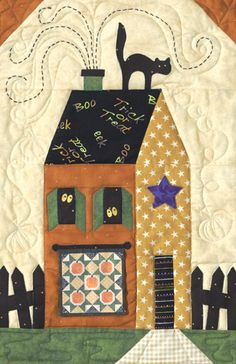 Sew Spooky Block of the Month ..... Um this one is in my stash too.