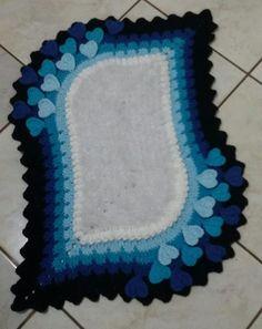 My Crochet Dream Crochet Decoration, Crochet Home Decor, Crochet Carpet, Knit Crochet, Tunisian Crochet, Crochet Squares, Crochet Doilies, Yarn Crafts, Diy And Crafts