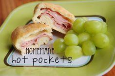 Meredith's Recipes: Homemade Hot Pockets