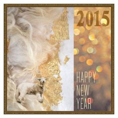 """""""Happy New Year 2015"""" by mollygrant ❤ liked on Polyvore featuring art"""
