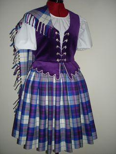 Aboyne with purple vest #pride #scotland #purple #tartan