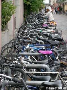FREIBURG Green City / Germany: bycicle city