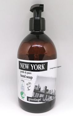 Cien New York gentle & pure hand soap Lidl, Soap, New York, Hands, Personal Care, Pure Products, London, Bottle, New York City
