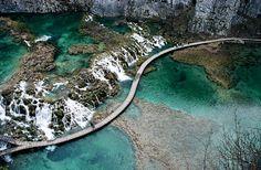 Plitvicka Jezera Nacional Park, Croacia