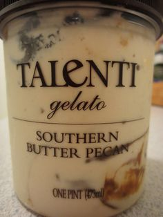 The Ice Cream Informant Review of Talenti Southern Butter Pecan. My review: This stuff tastes the closest to homemade ice cream.