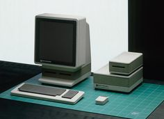 """<p>Apple Snow White 1, """"Sony Style,"""" 1982, inspired by Sony's success in making consumer electronics smarter and more compact.</p>"""