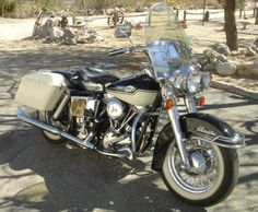 1965 FLH Panhead First Electraglide-Last Panhead