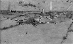 Whiskey 7 paratrooper drop Normandy France June 6, 1944