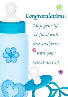 Congratulations on the birth of your baby boy blue shoes stripes congratulations on the birth of your baby boy blue shoes stripes card birth m4hsunfo