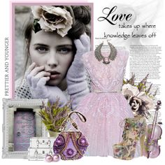 """""""Vintage lace"""" by lollypop1 on Polyvore"""