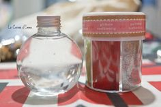 Jour 2 - Des bouteilles sensorielles de Noël - Le Carnet d'Emma  Activité manuelle DIY Noël Christmas  Activité à réaliser avec les enfants
