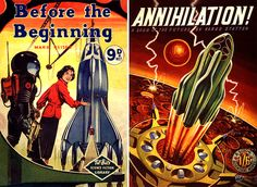 Dark Roasted Blend: Exceptional British Scifi Artwork from the 1950s