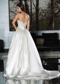 Style 50211 » Wedding Gowns » DaVinci Bridal » Available Colours : Ivory, White, Blush (back)