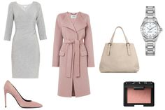 Grown-up pastels  Grown-up pastels Pastel tones can be incredibly feminine while still being professional. Team a classic grey shift dress with an elegant pink coat and complementing nude accessories for a chic spring look.  Coat, £450, L.K. Bennett; Dress, £328, Diane Von Furstenberg at Matchesfashion.com; Tote, £2,655, Bottega Veneta at Matchesfashion.com; Watch, £2,095, TAG Heuer at Watches of Switzerland; Shoes, £395, Saint Laurent at Harvey Nichols; Blusher, £22.50, Nars at Liberty  The…