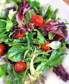 3 Gluten free salad dressing recipes for your fresh crisp greens. 1) basil citrus vinaigrette. 2) ginger dressing. 3) greek salad dressing.