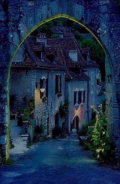 Saint Cirq Lapopie, Francia.