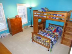 Mission Bunk Bed Plans - Downloadable Free Plans