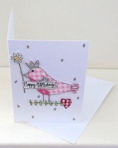 Little Birdie Happy Birthday C6 Card £4.00
