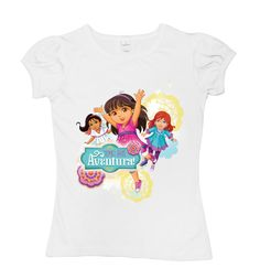 Dora And Best Friends Pleated T-Shirt