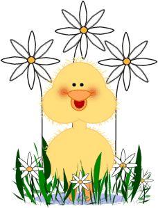 Cute Duck Clip Art Cute Easter