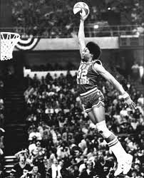 """Julius Erving took off once-in All-Stars Weekend Dunk Contest-from the free throw line and engraved his name in NBA History Books for eternity"""" Michael Jordan, Moses Malone, Coach Carter, Nba Stars, Sports Stars, Sports Picks, Basketball Legends, Basketball Players, Basketball Nets"""