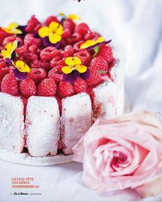 #Teasing le prochain Fou de Pâtisserie est en kiosque ce mardi ! @christophe_michalak nous y livre une belle recette de gâteau pour la fête des mères. by foudepatisserie