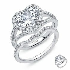 8f749f5ea22e0eaeed4508507054a1ec diamond wedding sets wedding ring setjpg - Heart Wedding Ring Set