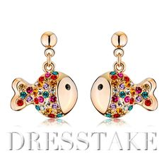 0f259360d Hot sale brand earrings fashion with swarovski elements crystal drop  earings,multicolor shipping