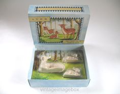 Avon Friends of the Forest #deersoap (I could never bring myself to use them.)