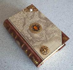 Ship Captains Log Secret Book Box