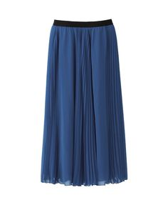 WOMEN CHIFFON LONG SKIRT