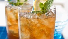 Young Living Essential Oils: Tea Recipe: Try this fantastic recipe for a refreshing drink! Mix 1/4 cup Yacon Syrup and four drops of peppermint essential oil in a large pitcher. Add 64 ounces of hot water and four Slique Tea pouches, steep for 4 minutes, and chill. Serve over ice with a quartered lime.