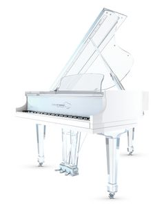 Acrylic piano Aire - White Polished Body