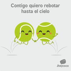 #jheycoco #jheyco #humor #literal #chibi #kawaii #cute #funny #ilustration #ilustración #lindo #amor #love #tennis #rebotar #juntos