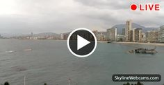 Fantastic view of #Benidorm, the 'New York of the Mediterranean'. live #webcam from #Spain