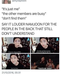 Tell them Joonie!