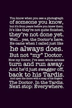 doctor who citations - Hledat Googlem