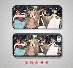 Disney princess Phone Cases iPhone 5 Case iPhone 5s by HalloCat, $6.99