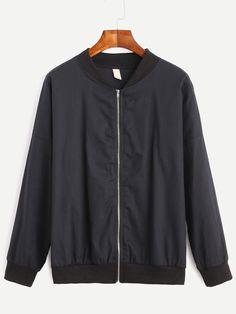 http://www.romwe.com/Black-Drop-Shoulder-Zipped-Bomber-Jacket-p-188414-cat-677.html