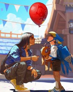 Overwatch - Pharah and the Balloon