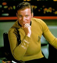 Captain James T. Kirk aka William Shatner, I have had a crush on him for years~! (almost 40)