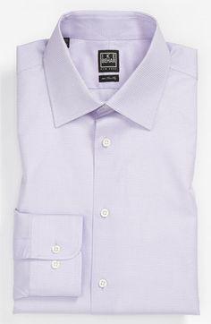Ike Behar Regular Fit Tonal Texture Dress Shirt (Online Only) available at #Nordstrom