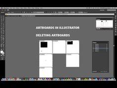 Illustrator CC 2014 : Artboards deleting / erasing / removing tutorial - YouTube